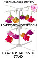 Gumpaste flower drying rack. Fondant drying rack. Gumpaste flowers. Fondant flowers. Sugarcraft. Free  worldwide shipping